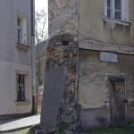 Pozostałości murów obronnych od strony zachodniej