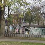 Widok z ulicy Ogrodowej