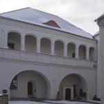 Odbudowana część południowa z ekspozycją muzealną