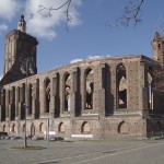 Gubin - Ruiny kościoła św. Trójcy
