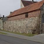 Fragment murów miejskch w Nowym Miasteczku