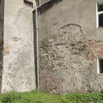 Szprotawa - frament murów obok Bramy Żagańskiej