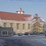 Zamek w Kożuchowie - Widok z ul. Kościelnej