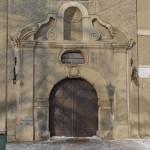 Zamek w Kożuchowie - portal