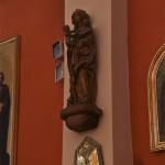 Rzeźba św. Anny Samotrzeć