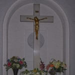 Krzyż w głównej kruchcie