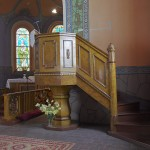 Zielona Góra – Kościół ewangelicko-augsburski - Ambona – 1910 r.