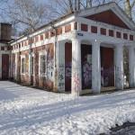 Park Tysiąclecia - Budynek dawnego krematorium
