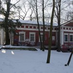 Zielona Góra - Park Tysiąclecia - Budynek dawnego krematorium
