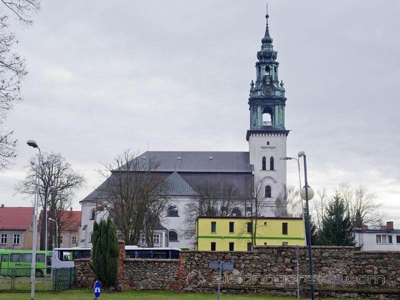 Krosno Odrzańskie - Kościół św. Jadwigi Śląskiej