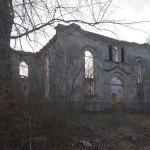 Niwiska - Ruiny kościoł protestanckiego