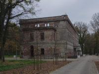Zatonie - ruiny pałacu po 2018 r.
