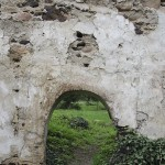 Zatonie - ruiny kościoła św, Jana