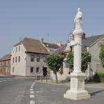 Posąg św. Wawrzyńca