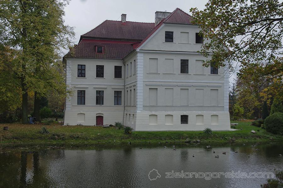 Chichy - Pałac - listopad 2020 r.