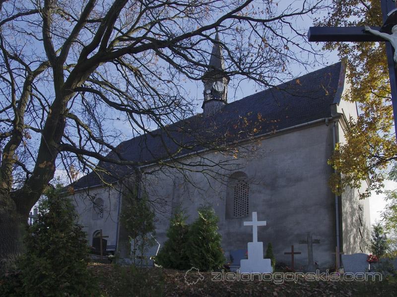 Lubięcin - Kościół św. Katarzyny
