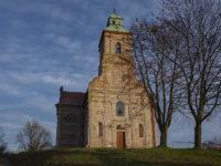 Gęstowice - Kościół Wniebowzięcia Najświętszej Maryi Panny