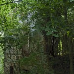 Ruiny dworu w Mirocinie Górnym