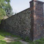 Szprotawa - fragment murów przy ul. Ogrodowej