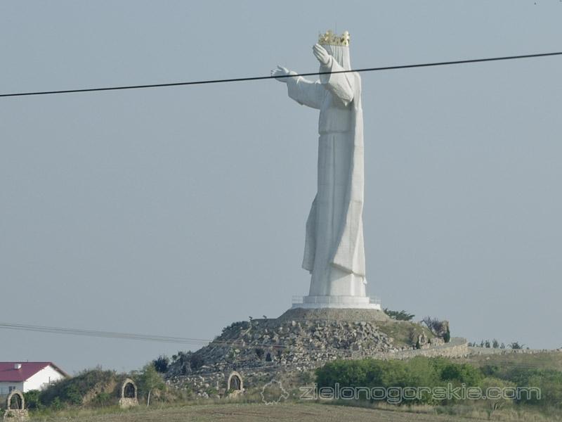 Świebodzin - figura Chrystusa Króla Wszechświata