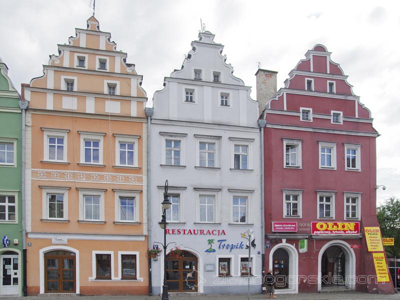 Żagań - Zabudowa Starego Miasta