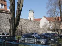 Żagań - Mury miejskie - Sąd Rejonowy