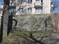 Żagań - Mury miejskie - Okolice pałacu